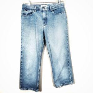 Vintage Tommy Hilfiger Cropped Boyfriend Jeans 12